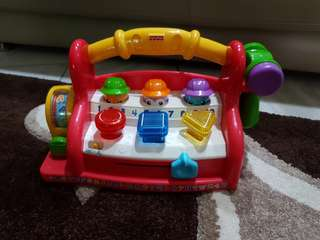 Fisher Price Laugh & Learning Work Bench
