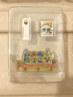 Sanrio vintage mini 2 食玩 patty and jimmy 掛鉤