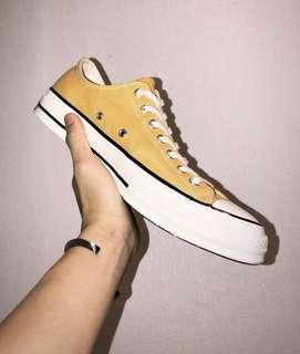 converse 1970 yellow