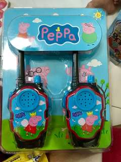 Peppa pig walkie talkie