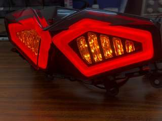 🚚 忍者龜導光尾燈 Yamaha Force 專用款