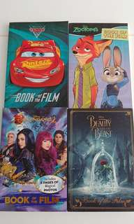 Books CARS 3, ZOOTOPIA, DESCENDANTS 2, BEAUTY and the BEAST