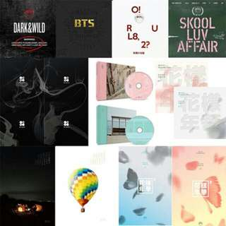 ALL BTS ALBUMS IN ONE