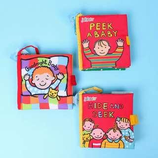 Jollybaby interactive cloth books