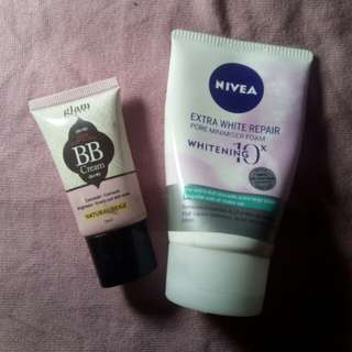Daiso Hand Cream Apple Cucumber 100ml Daftar Harga Harga Source · Nivea Facial Foam & Glamworks