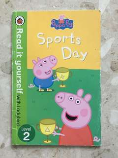Props pig sports day story book