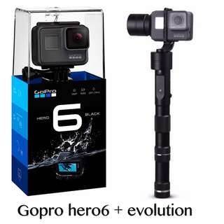Limited Offer GoPro Hero 6 + evolution gimbal