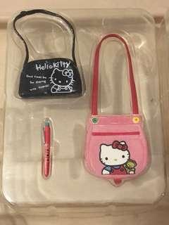 Sanrio vintage mini 絕版食玩 hello kitty 袋