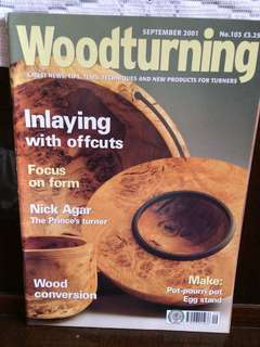 Woodturnig 2001 Sept no.103