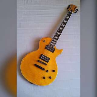 RUSH!!! Custom Build Vintage Blonde Gibson Les Paul Inspired Guitar