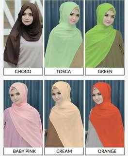 Almeira Hijab Pashmina Ceruti