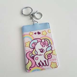 Cute Unicorn EZ-Link / Company Pass / Access Card Holder