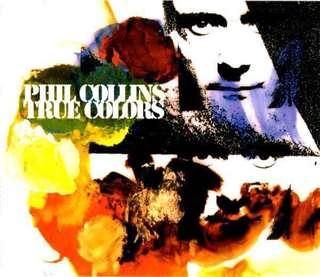 Phil Collins - True Colors (CD Single)