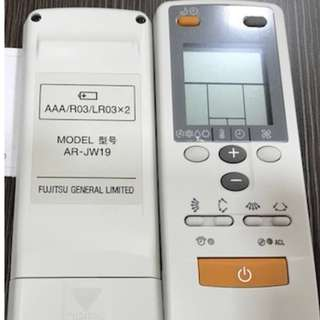 Wireless remote for air-cond