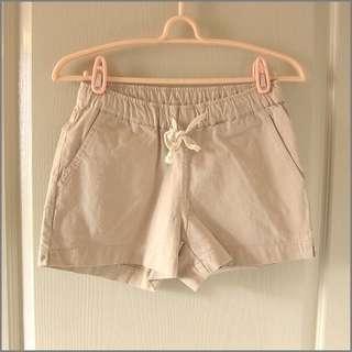🚚 出國前服飾出清#熱銷款腰鬆緊水洗棉褲(卡其)