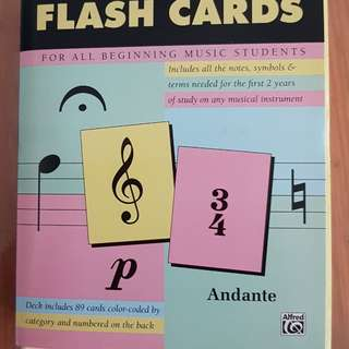 Flashcards - music / piano related