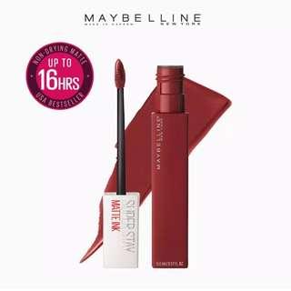 Maybelline Superstay Matte Ink lipstick (voyager)