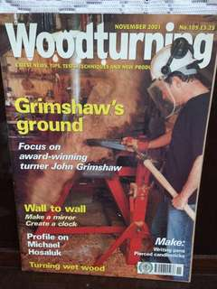 Woodturnig 2001 Nov no.105