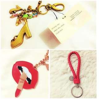 Bundle Sale! Authentic Bag Charms/ Key holder