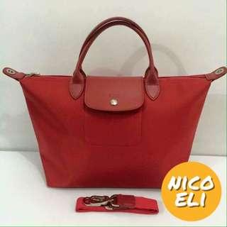 Longchamp Neo (Watermelon Red)