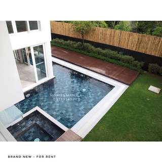 Brand New Modern Ayala Alabang House and Lot For Rent and Sale