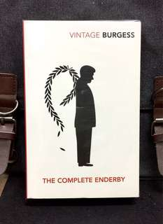 # Novel《Bran-New + 4-In-1 Timeless Classic Collection Fiction/English Literature 》Anthony Burgess - THE COMPLETE ENDERBY : Inside Mr. Enderby + Enderby Outside + The Clockwork Testament + Enderby's Dark Lady