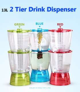 🌟U68 13L 2 Tier Drink dispenser BPA FREE (2.5kg)🌟