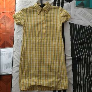 CHECKERED/GINGHAM DRESS FITS S-M