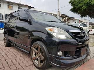 Toyota Avanza 1.3 (A) 2007-With Multimedia Gps Touch Screen