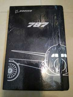 Boeing B787 note book