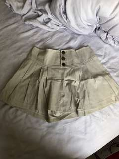 Beige basic skirts