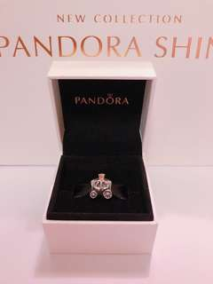 Pandora pumpkin Charm 南瓜車