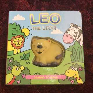 Buku import anak (leo the lion - learns to roar)