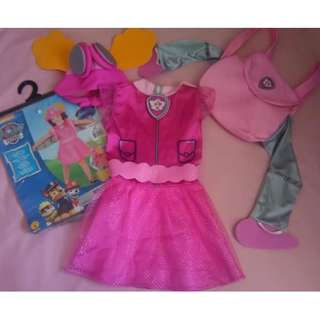 Paw Patrol Skye Costume and Shoes