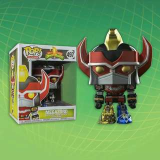 "[PRE-ORDER] Megazord 6"" Metallic Power Rangers Funko Pop"