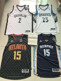 NBA Adidas Jersey 少有系列 (凡購買有特別優惠)