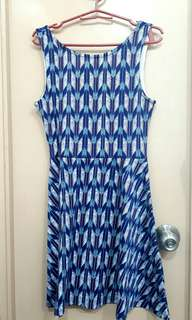 H & M Blue Dress