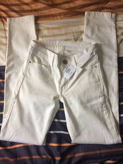 Astradivarius White Pants