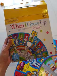 Infantino when I grow up puzzle