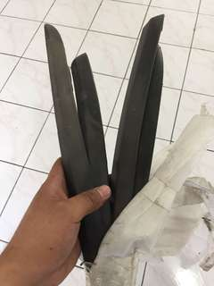 Perdana alfa bumper lining