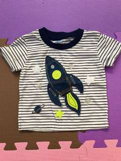 Cute high quality baby shirt