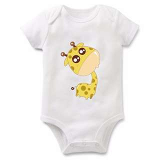 Cute baby romper giraffe baby cloth