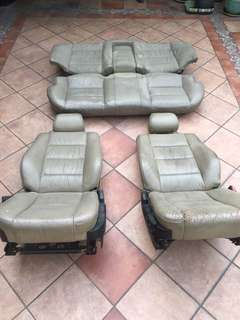 E34 Seats Full Set