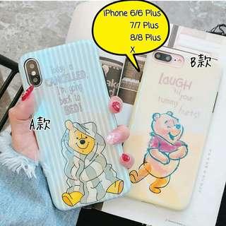 維尼熊iPhone殼[2款] Winnie the Pooh iPhone Case[2 models]