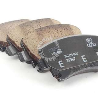 VW VOLKSWAGEN EOS REAR DISC BRAKE PAD 286MM