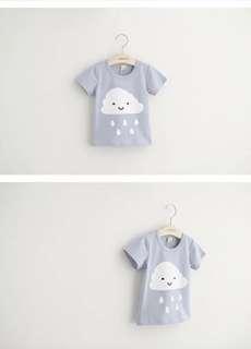 BNIP Baby cartoon printing short-sleeved T-shirt