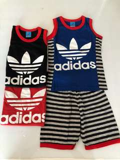 Adidas sleeveless set