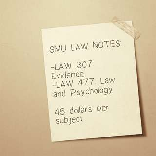 SMU Law notes