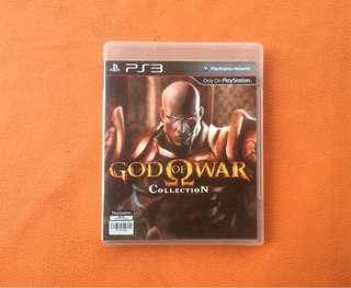 BD PS3 God of War Collection