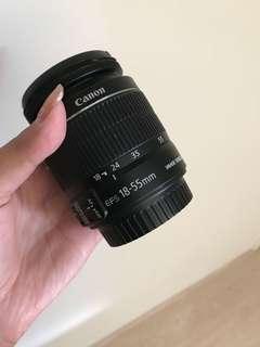 Canon lens (18-55mm)